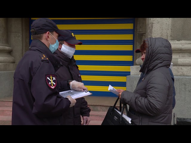 Ангарчан пока не штрафуют за отсутствие масок