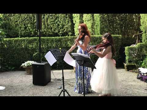 Barbara Andreini magici violini due violini classico elettrico Lucca Musiqua