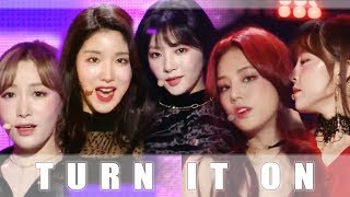 [Comeback Stage] LABOUM - Turn It On  , 라붐 - 불을 켜 Music core 20181208