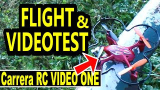 Carrera RC Quadrocopter Video ONE - Test Video Flight Drohnen