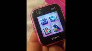 Unboxing: KidiZoom Smart Watch DX2 Vtech Learning Toy Kids Tablet Camera Computer (NO COMMENTARY)