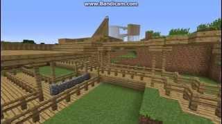 Awsome Minecraft Rollercoaster (The Beast)