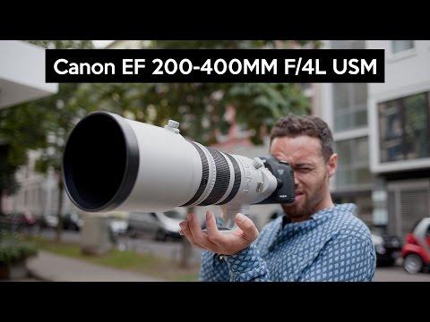 Canon EF 200-400mm F/4L IS USM Teleobjektiv | 11.000€ Super-Zoom | Frankfurt Airport Spotting