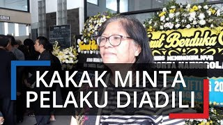 Keluarga Korban Penjambretan yang Tewas di Bogor Minta Polisi Segera Tangkap Pelaku yang Kabur