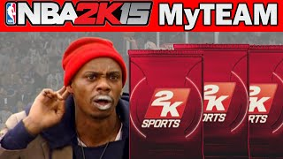 NBA 2K15 MyTeam Pack Opening - C'MON ONE MO! | NBA 2K15 Dimer Packs Opening