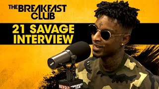21 Savage Opens Up About Dating Amber Rose, First Album Success & Much More