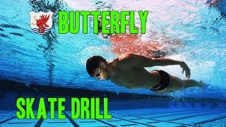 Swimisodes - Improve Butterfly Technique - Skate Drill