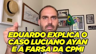 Eduardo Bolsonaro desmascara Luciano Ayan, MBL, Frota e milícia digital dos traíras