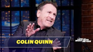 Colin Quinn Thinks Free Speech Is Wasted on the Internet