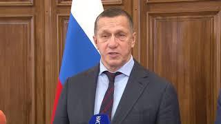 Визит Полномочного представителя Президента РФ в Дальневосточном федеральном округе в Хабаровск