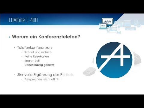 Webinar - Produktvorstellung COMfortel C-400 - das neue IP-Konferenztelefon