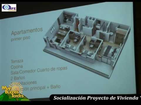 """Socializacion Proyecto de Vivienda """"Urbanizacion San Jeronimo"""" Constructor"""