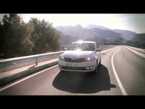 Skoda  Rapid Лифтбек класса B - рекламное видео 1