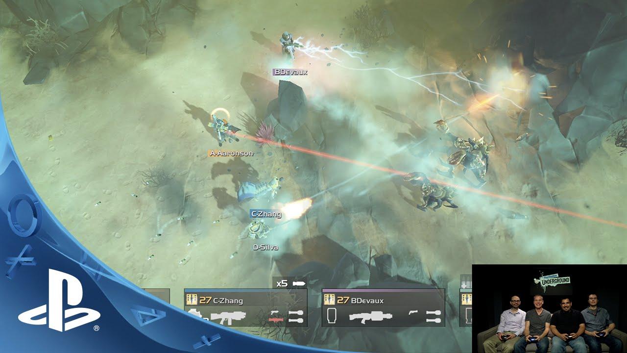 PlayStation Underground: Helldivers