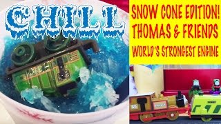 Snow Cone Edition - Thomas & Friends Trackmaster Trains World's Strongest Engine