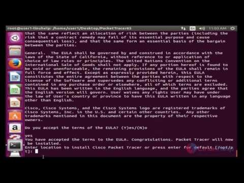 packet tracer 7.1 ubuntu 17.10