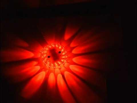 LED Sicherheitslicht - Warnlicht mit 9 Lichtprogrammen