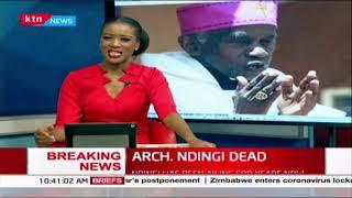 The profile of Archbishop Raphael S. Ndingi Mwana 'a Nzeki
