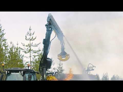 KESLA multipurpose concept: extinguishing a forest fire