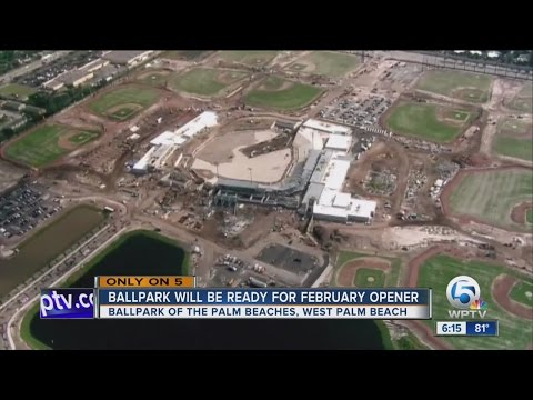 Video Ballpark will be ready for February opener