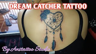 DREAM CATCHER TATTOO ( By.Anstattoo Studio )