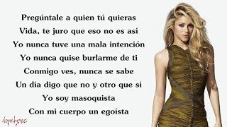 Shakira - Chantaje (Lyrics) ft. Maluma
