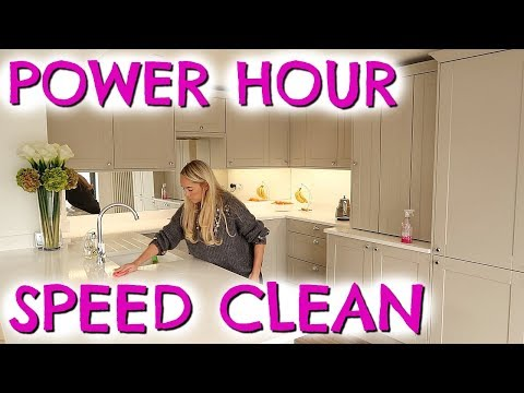 POWER HOUR SPEED CLEAN WITH ME  |  CLEANING MOTIVATION WITH EMILY NORRIS AD
