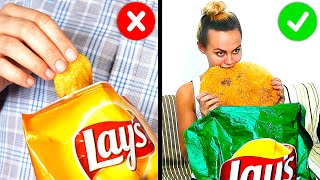 34 COOL HACKS WITH YOUR FAVORITE FOOD