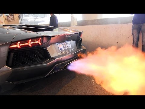 The BEST Supercar Exhaust FLAMES Ever!!