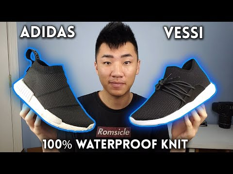 100% WaterPROOF Shoes – Vessi Cityscape VS Adidas CS1 Goretex!