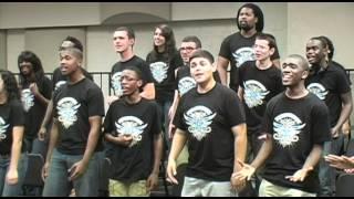 Pocono Mountain West Junior High School's Urbane gospel choir sings Foreigner