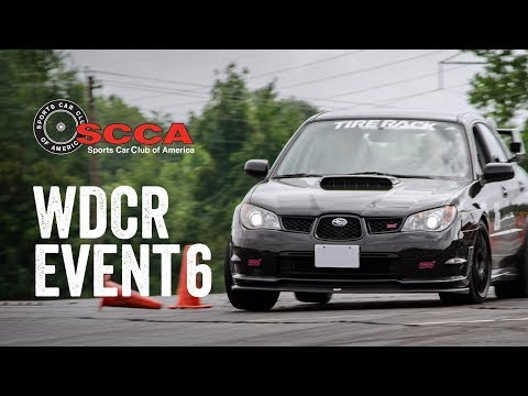 SCCA WDCR Event 6 - Autocross (STU): FedEx Field Stadium (9/29/19)