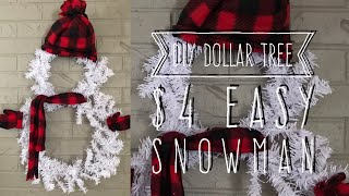 DIYDollarTree$4EasySnowman