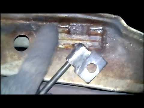 ремонт навесов дверей ВАЗ 2108-15 своими руками