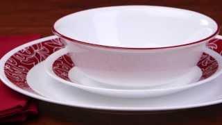 Corelle - Bandhani 16 Piece Dinnerware Set