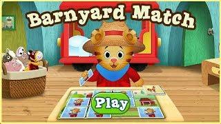 ☀ Daniel Tiger Barnyard Match ☀ Daniel Tiger's Neighborhood Games ☀ Full Gameplay for kids ☀