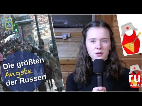 Die größten Ängste der Russen [Video]