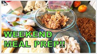 WEEKEND MEAL PREP || Quick & Easy Meal Prep