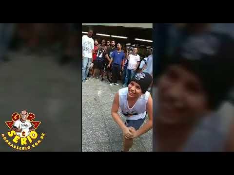 Ney de Juquitiba na Dança de Rua na Estação São Bento