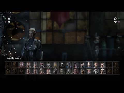 Mortal Kombat X: Sonya Blade Vs. Cassie Cage