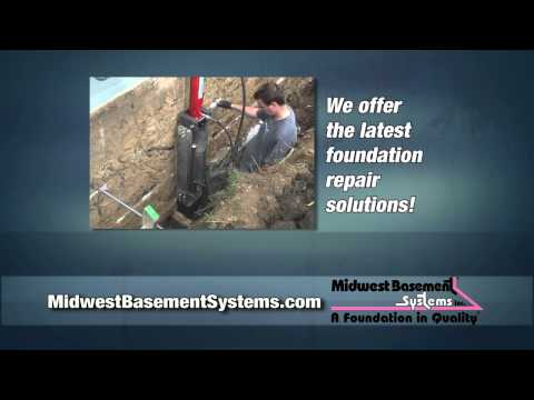Solutions for Foundation Cracks by Midwest Basement Systems