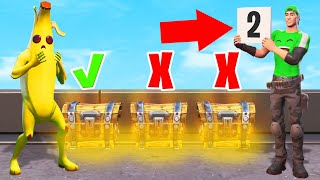 Pick The CORRECT MYSTERY CHEST To WIN! (Fortnite)