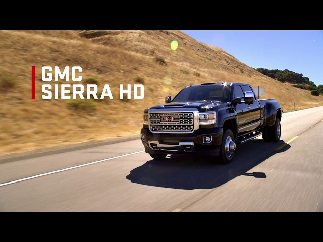 2018 Sierra HD: Capability Overview | GMC
