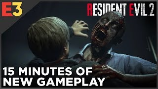 Resident Evil 2 REMAKE: 15 Minutes of Gameplay! | Polygon @ E3 2018