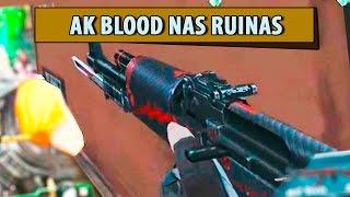 Blood Strike AK BLOOD NAS RUINAS MODO ZUMBI