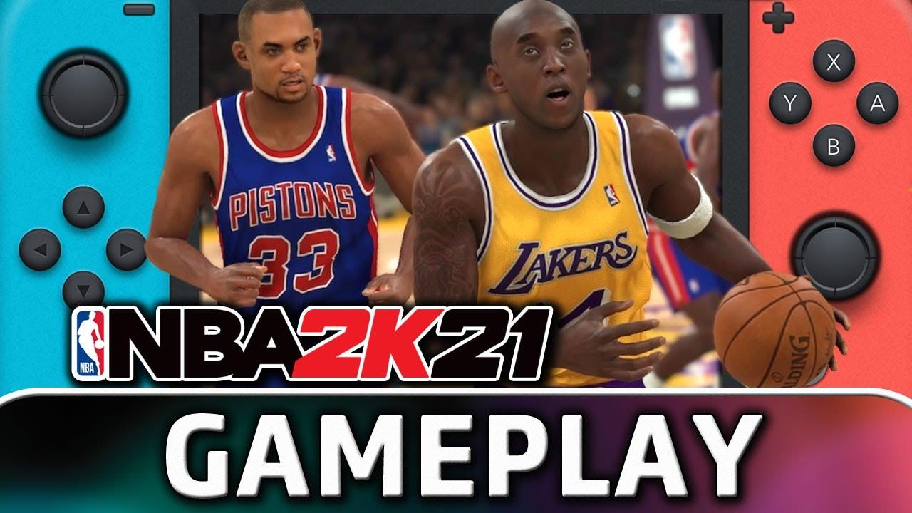 NBA 2K21 | Nintendo Switch Gameplay