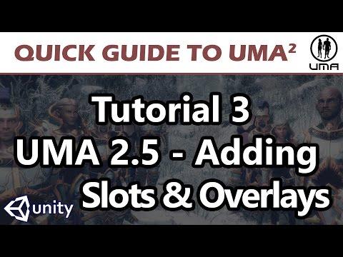 UMA - Unity Multipurpose Avatar - 03 UMA Code Part 03
