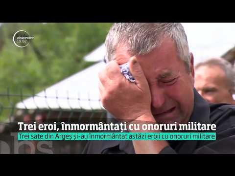 Militarii care au murit sub fiarele camionului vechi de 30 de ani au fost înmormântaţi
