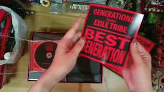 Unboxing - BEST GENERATION (GENERATIONS From EXILE TRIBE)