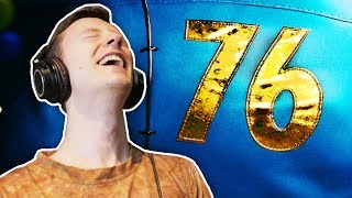 ANEWCHALLENGERAPPROACHES...FALLOUT76ISHEREFallout76TrailerReaction&Breakdown